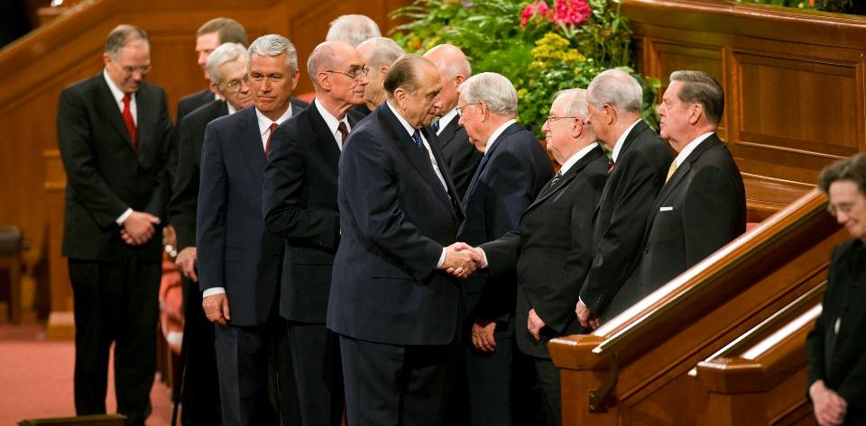 LDS Church leadership
