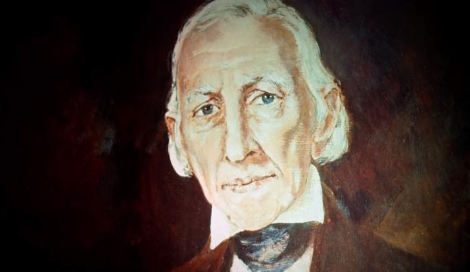 Portrait painting of Joseph Smith Sr.