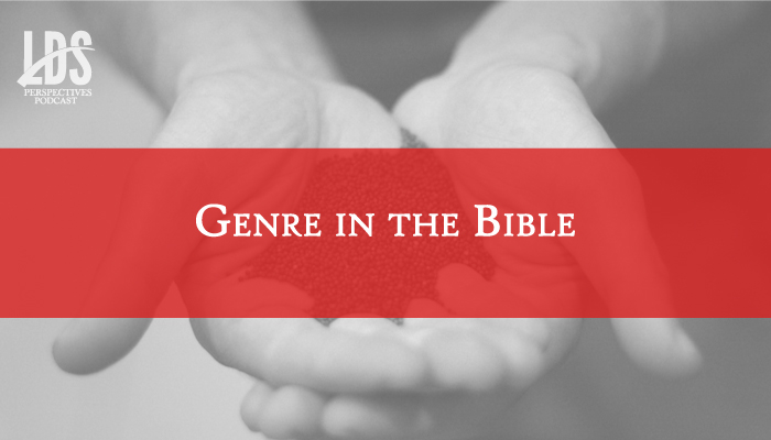 genre in the bible lds title graphic