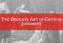 critical judgment lds title graphic