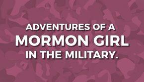 Mormon in military title graphic