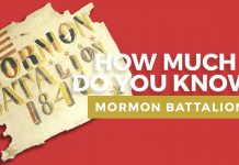 Mormon battalion quiz graphic