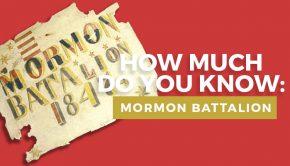 Mormon battalion quiz graphic