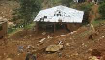 Freetown mudslide