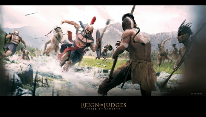Reign of Judges movie ad