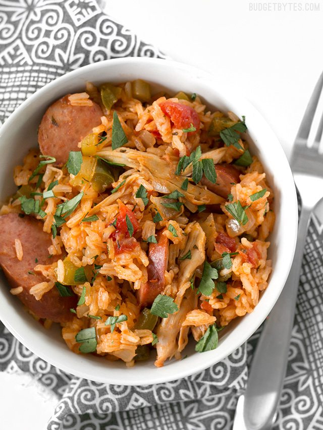 Slow Cooked Jambalaya