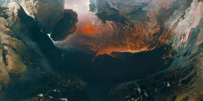 The End of the World by John Martin