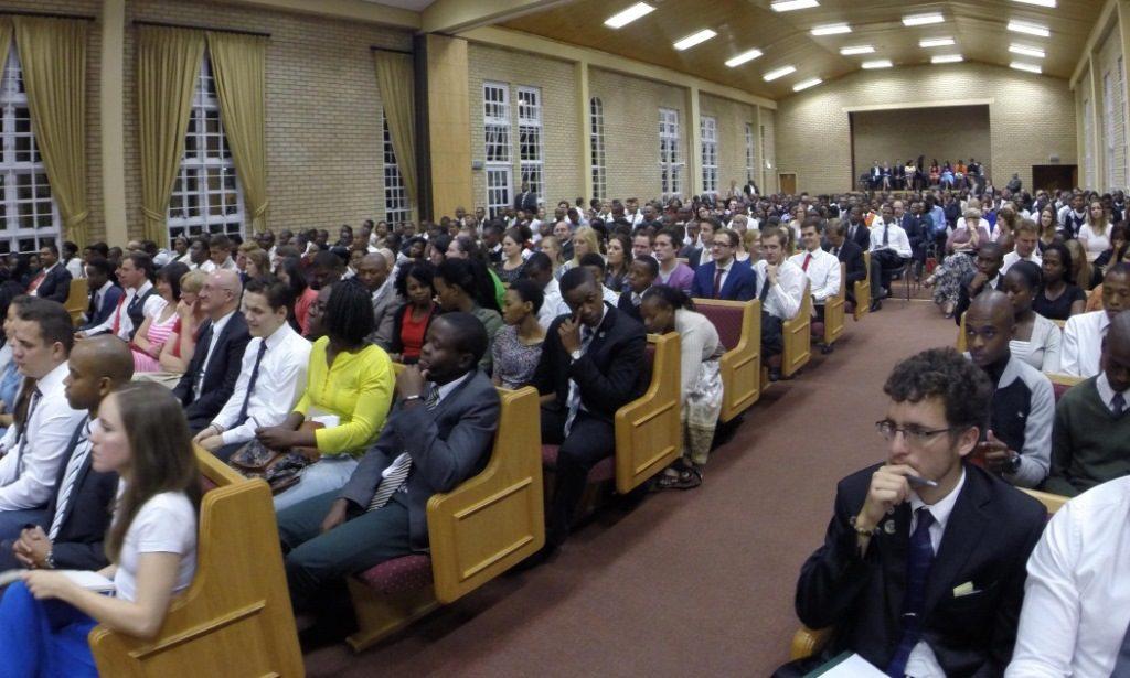 diverse Mormon sacrament meeting