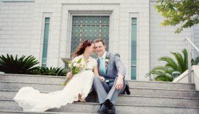 A Mormon wedding