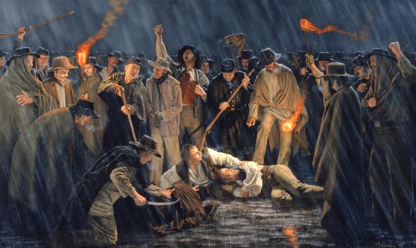 Cold Missouri Night by Joseph Brickey