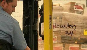 Houston aid shipment