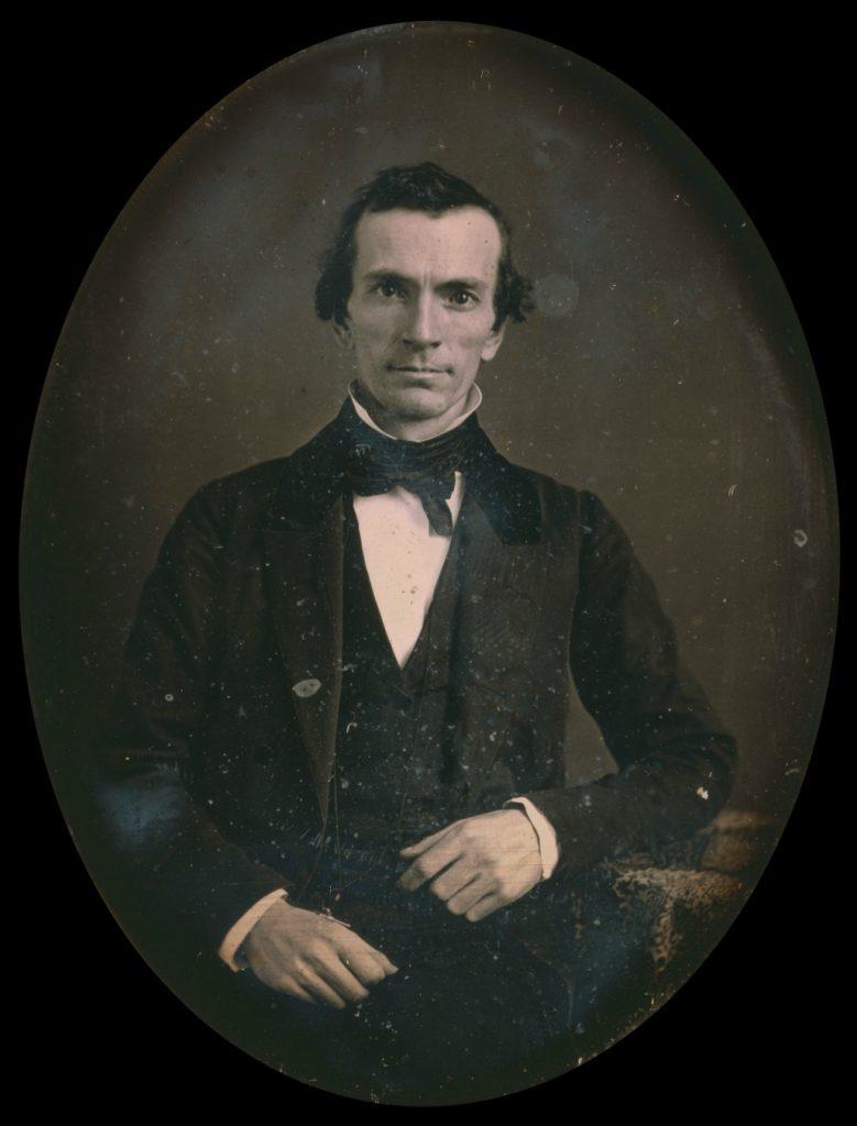 Daguerreotype of Oliver Cowdery