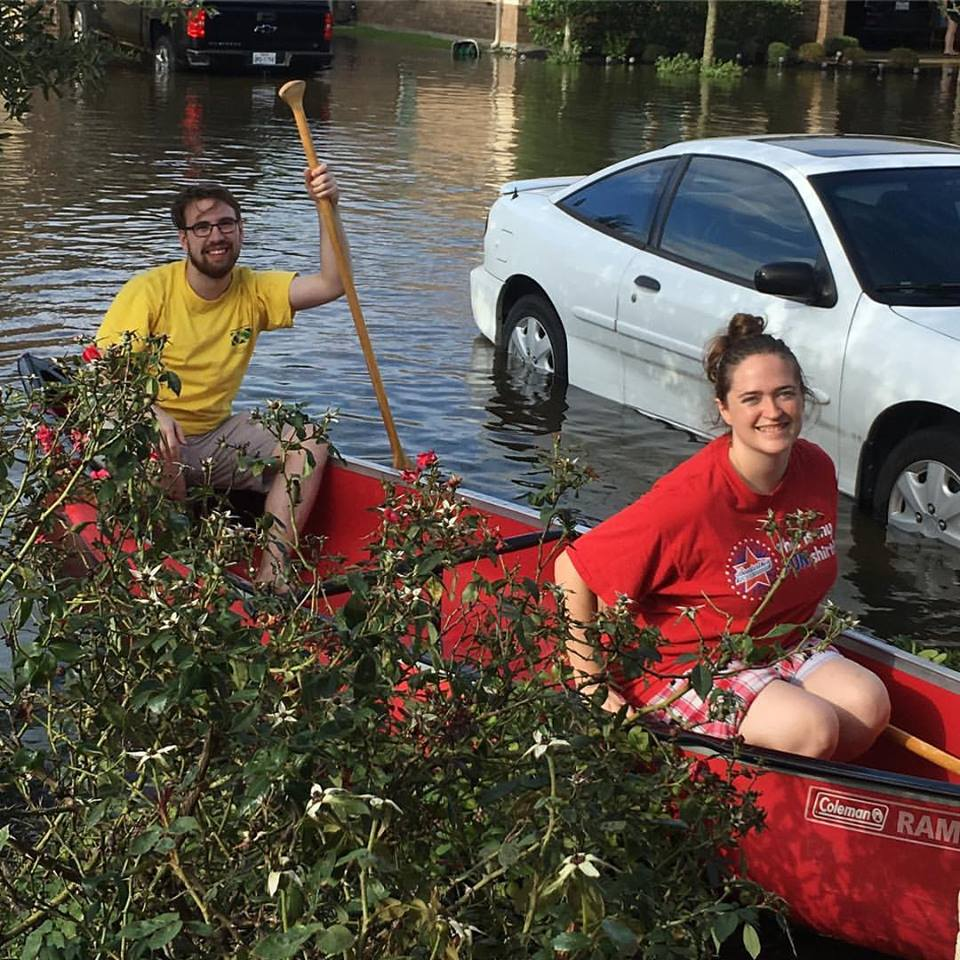 Happiness Hurricane Harvey