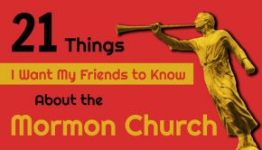 Title image with statue of Angel Moroni