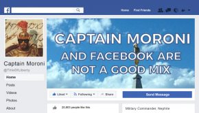 captain moroni and Facebook are not a good mix