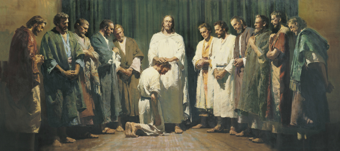 christ ordaining apostles prophets harry anderson