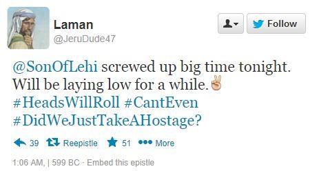 Laman tweet about Laban