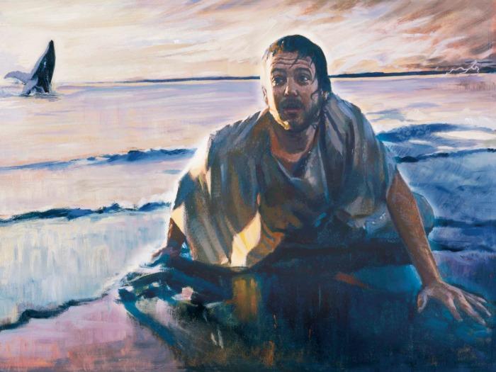 jonah nineveh beach daniel lewis prophets