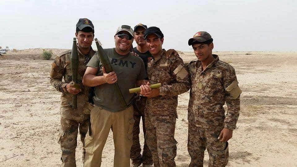army group in Iraq