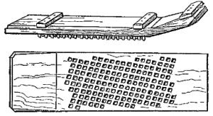 threshing instrument or sledge bible