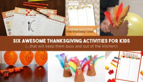 thanksgiving kids activities