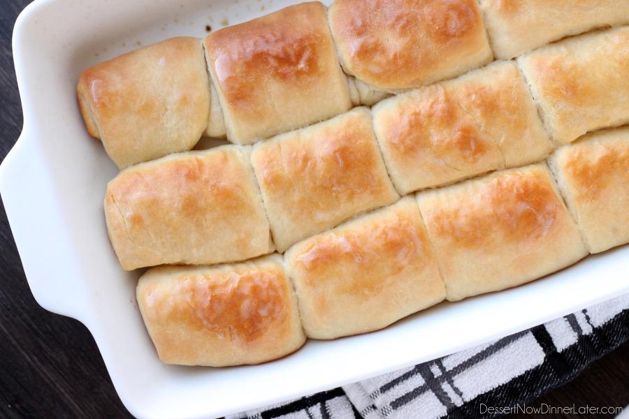 parker house dinner rolls