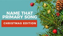 Primary Christmas song quiz