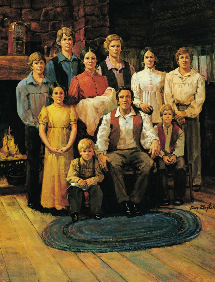 Portrait art of Joseph Smith's family