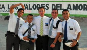 Five Mormon missionaries