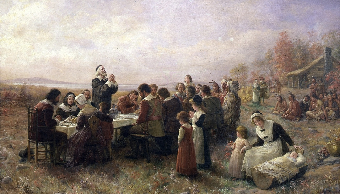 first thanksgiving tradition