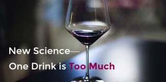 new science one alcoholic drink is too much