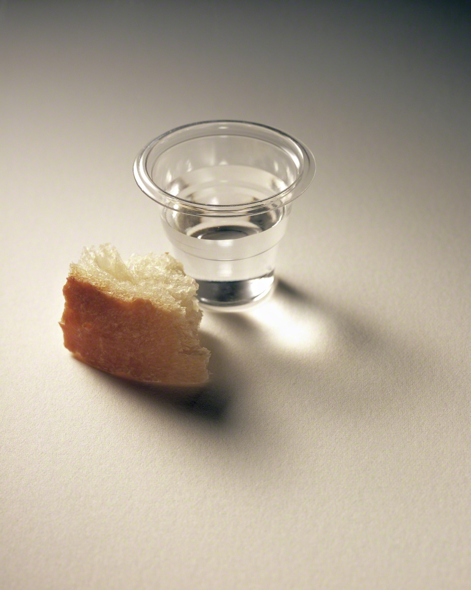 bread water sacrament mercy