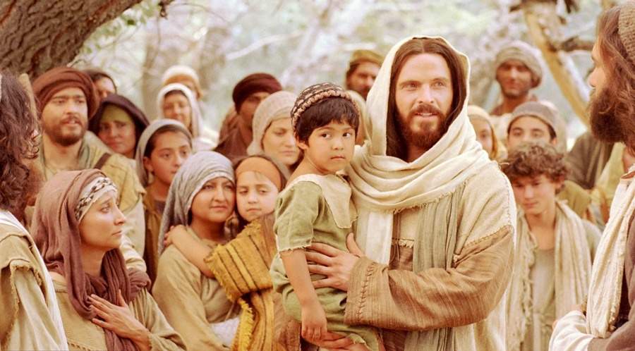 Jesus with young children