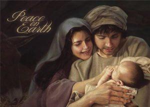 Liz Lemon Swindle Mary Joseph Baby Jesus