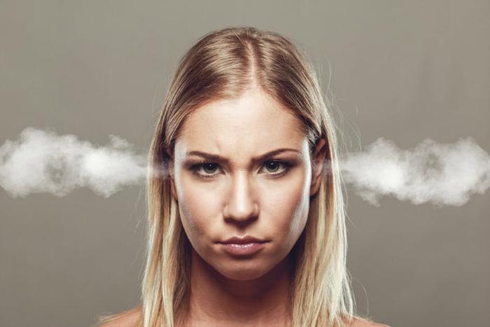 anger smoking ears