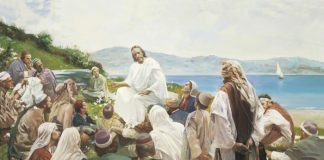 sermon on the mount art