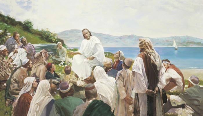 sermon on the mount art