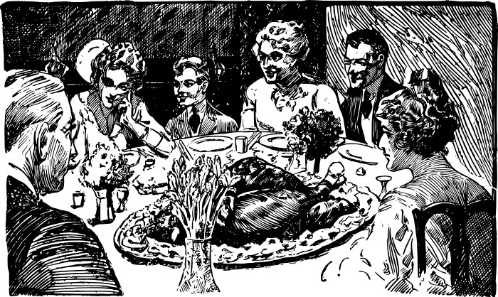 thanksgiving traditions give a toast