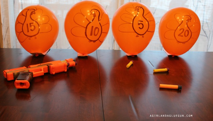 turkey shooting balloon game