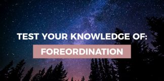 foreordination quiz graphic lds