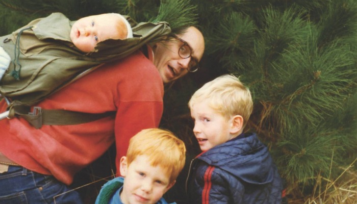 President Henry B. Eyring with his family.