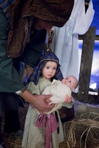 nativity little girl