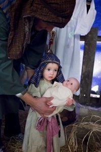 nativity little girl