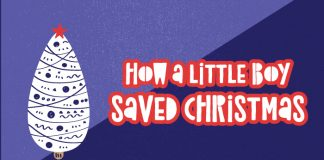 how a little boy saved christmas title graphic