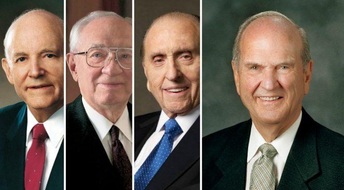 Four Mormon prophets