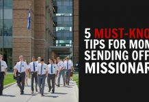 MISSIONARY MOM TIPS