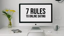 7 rules for online dating title graphic