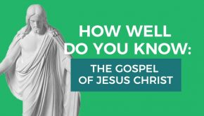 gospel of christ quiz graphic