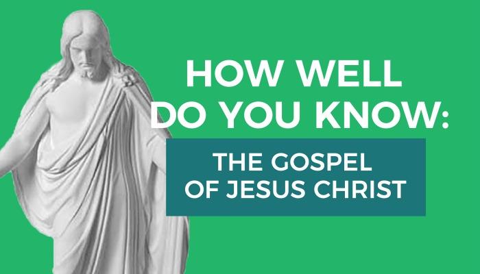 gospel of christ quiz graphic