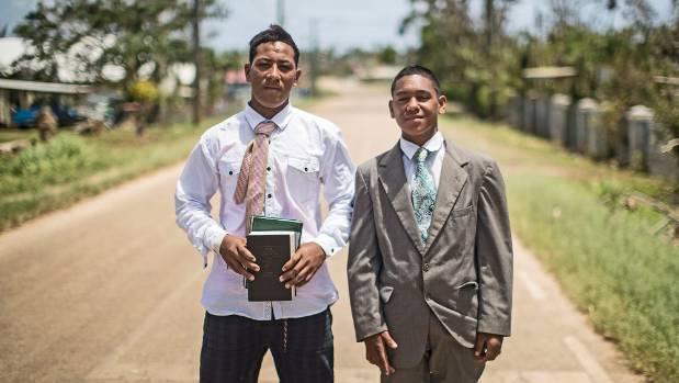 Mormon tongan cousins